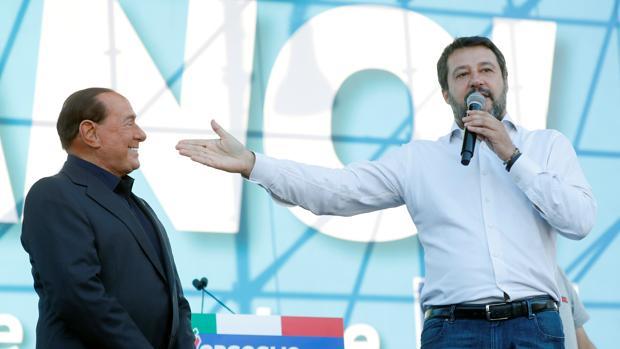 La coalición del centro-derecha renace en Roma con una gran marcha contra el Gobierno de izquierdas
