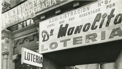 Doña Manolita, una de las administraciones emblemáticas de España