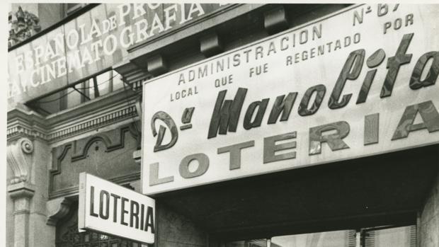 Doña Manolita, una de las administraciones más emblemáticas de España