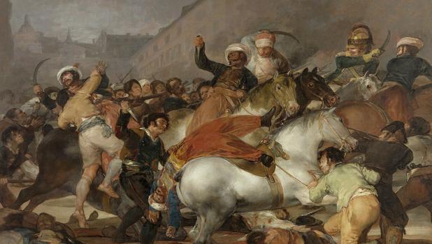 «El dos de mayo de 1808 en Madrid», pintura de Goya