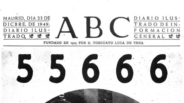 Portada del diario del 23 de febrero de 1949