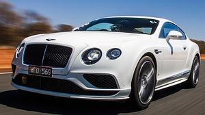 Vídeo: El Bentley Continental GT Speed a velocidad máxima en el interior de Australia