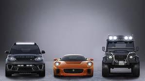 Los coches de los malos en Spectre