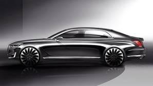 Hyundai G90, primer avance del modelo más lujoso en la marca