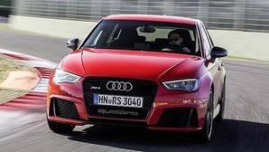 Audi RS3 Sportback, con piel de cordero