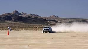 Hyundai bate el récord de velocidad con un coche de hidrógeno