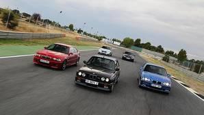Treinta años y cinco generaciones de BMW M3