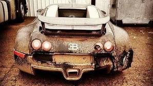 Aparece abandonado en Rusia un Bugatti de 1,5 millones de euros