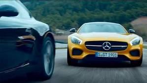 Mercedes AMG reta al Porsche 911