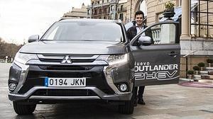 Dos ganadores juntos: Mitsubishi y Javier Gómez Noya