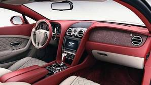 Apliques decorativos de efecto piedra para los deportivos Bentley