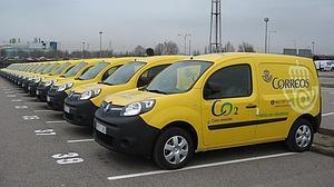 25 Renault Kangoo Z.E. rodarán por nuestras ciudades entregando paquetes y cartas con cero emisiones