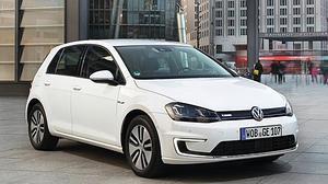 El Volkswagen e-Golf
