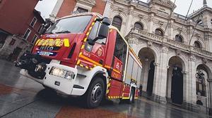 Valladolid estrena dos camiones de bomberos Iveco Magirus