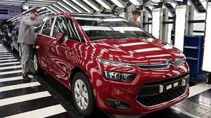 Uno de cada cinco coches exportados pertenece al grupo PSA