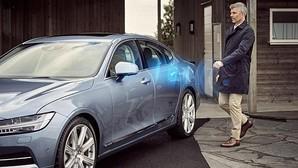 Volvo lanza el primer coche sin llave