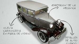 Vídeo: Transforman una Nissan pick-up en un coche clásico de los años 30