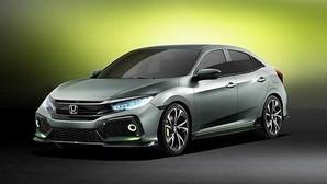 Honda Civic 5 puertas prototipo, primer avance