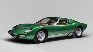 Este Lamborghini Miura de 1971 luce como el primer día, ni más ni menos