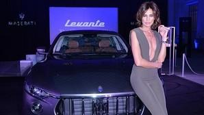 El nuevo Maserati Levante lució tipo en Madrid