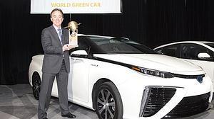 El Toyota Mirai, elegido Coche Sostenible del Mundo 2016