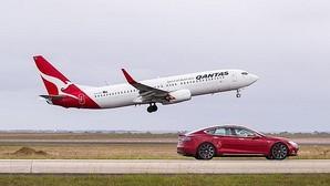 Vídeo: Tesla reta a un Boeing