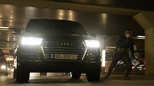 El «Capitán América» viaja en Audi