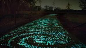Inventan un cemento emisor de luz para alumbrar las carreteras