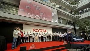 Toyota celebra sus 10 millones de coches fabricados en Europa