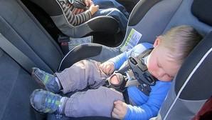Sillitas infantiles, mejor en sentido opuesto a la marcha