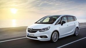 Opel desvela las primeras imágenes del nuevo Zafira