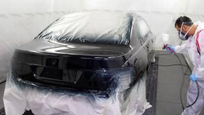 Pintar el coche cuesta 1.372 euros de media