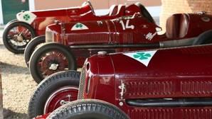 Alfa expone en Madrid sus clásicos de carreras