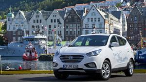 Una caravana de Hyundai ix35 Fuell Cell recorre con 0 emisiones 2.500km en cinco días