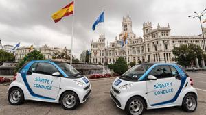 Los coches eléctricos de alquiler de Madrid reducen en 343 toneladas las emisiones de CO₂