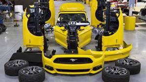 Vídeo: así montan un Mustang Cabrio en 30 segundos