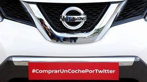 Nissan vende el primer coche por Twitter