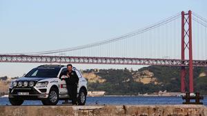 Récord mundial: en coche de Rusia a Lisboa en 6 días 9 horas y 38 minutos