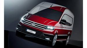 Primera imagen del nuevo Volkswagen Crafter