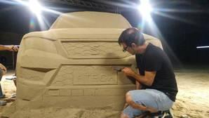 Vídeo: No te pierdas este SEAT Ateca hecho ¡de arena!