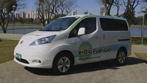 El coche eléctrico con pila de combustible de bioetanol y una autonomía de 600 kilómetros