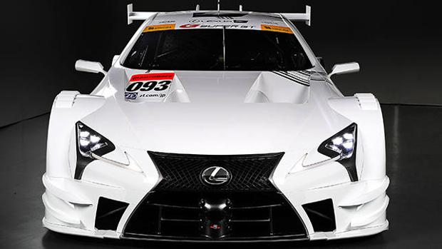 El Lexus LC 500 de competición impresiona
