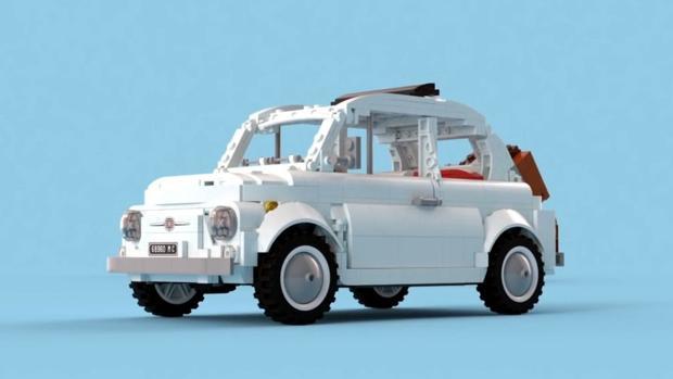 Lego «mete mano» al Fiat 500 original