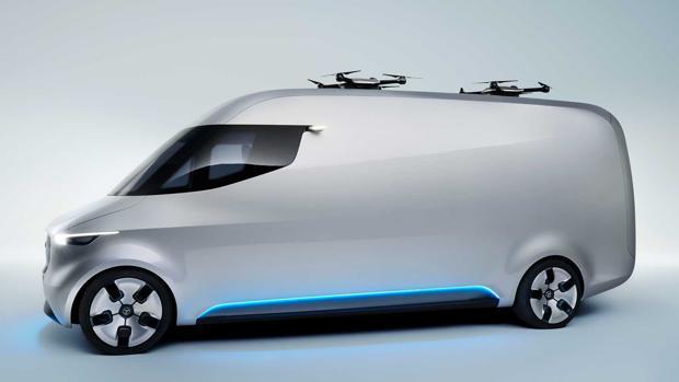 Vision VAN, drones y furgones