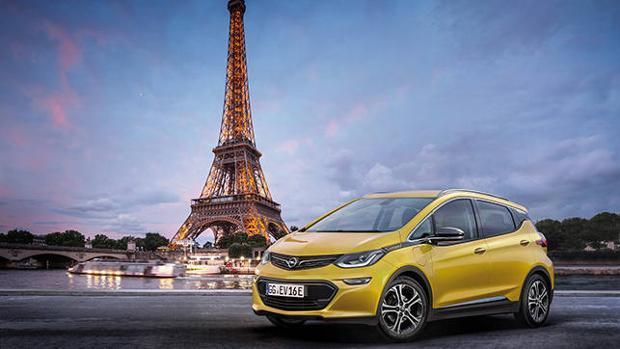 El nuevo Opel Ampera-e se presentará en la ciudad de la luz, París