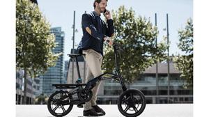 Peugeot crea su primera bicicleta plegable y eléctrica, la eF01