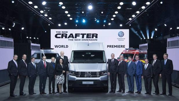 Volkswagen «lo da todo» por la carga con el nuevo Crafter