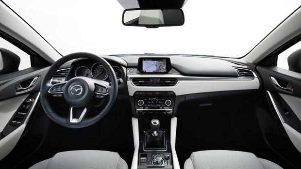 Mazda6, pinceladas de «refresco»