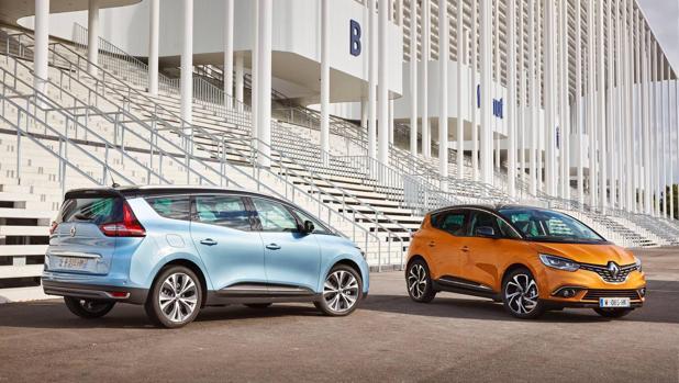 Diseño moderno y practicidad para los nuevos Renault Scenic