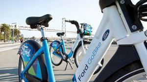 Ford lanza GoBike, un servicio de bicicletas compartido